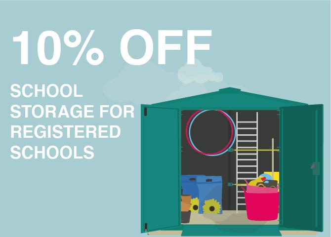 School Storage Discount