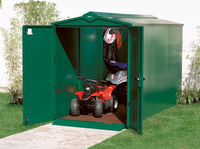 ATV & Quad Bike Metal Storage Shed