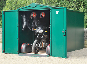 Motorcycle Garages by Asgard Secure Storage
