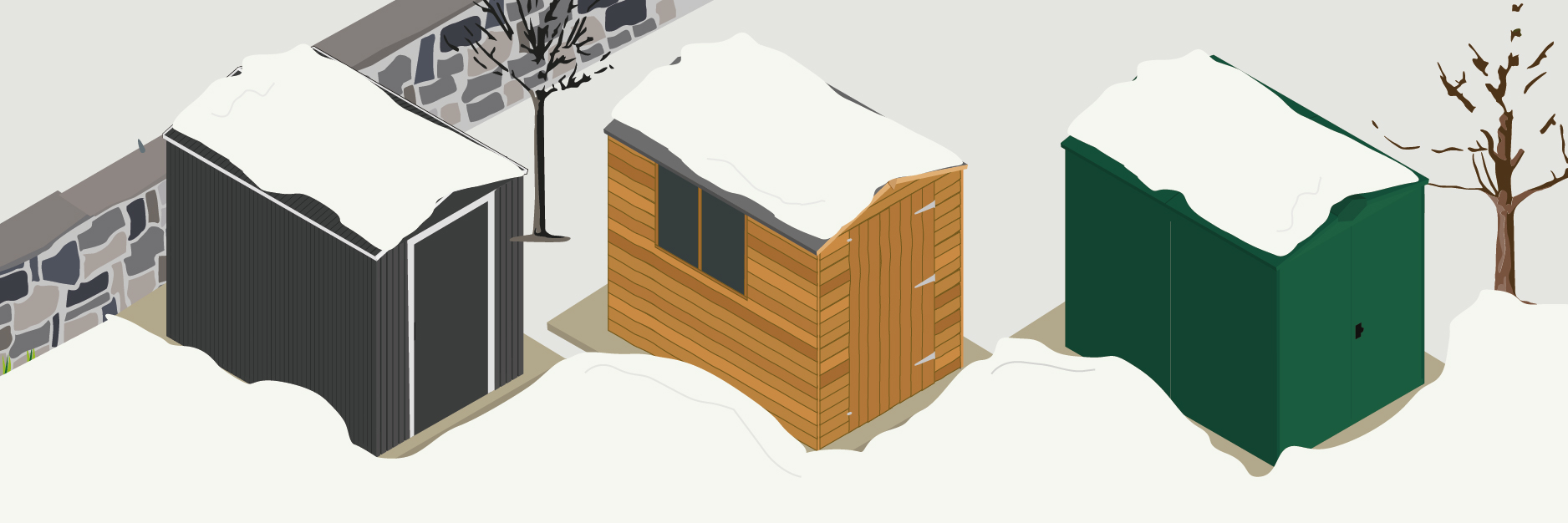 Snow Proof Asgard Sheds
