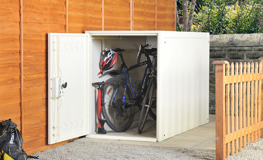 Double Bike Storage Locker