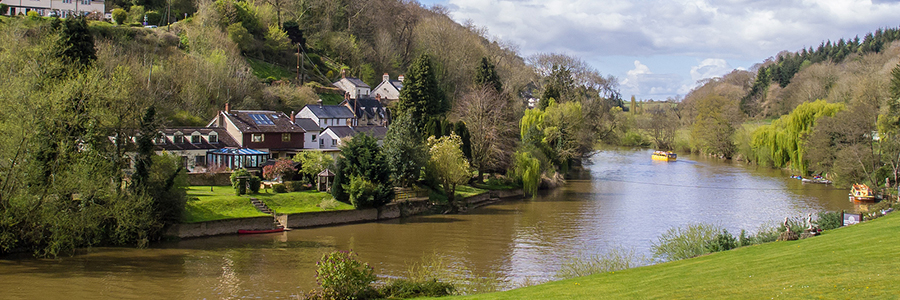 Village on the River Wye