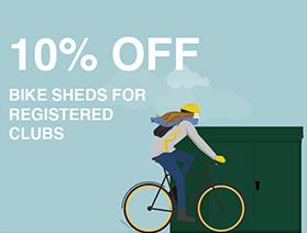 Bike shed discount code