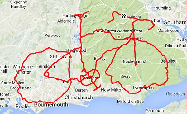 Crocodile GPS Drawing