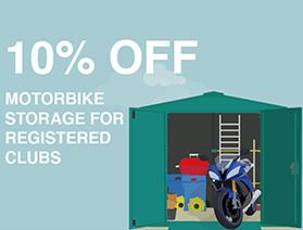 Motorcycle garage storage discount codes