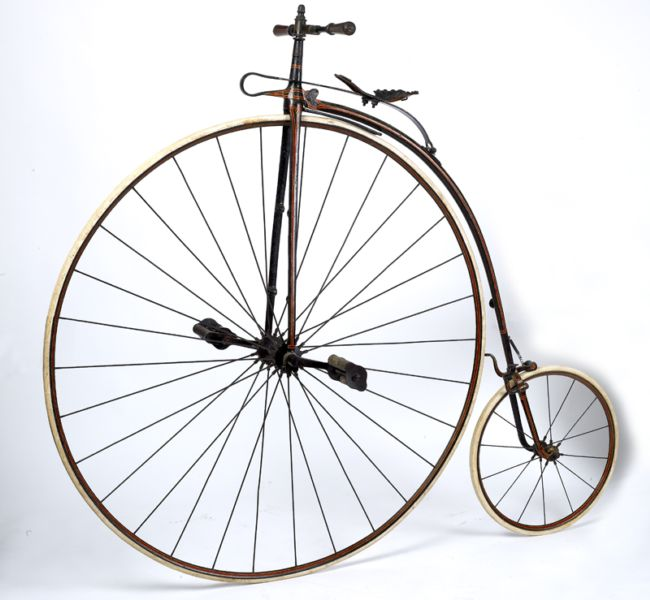 Penny farthing the original bike