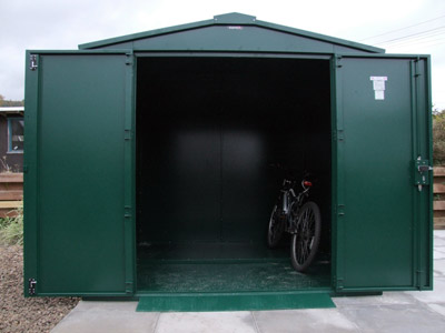 Asgard bike storage at The Stanes