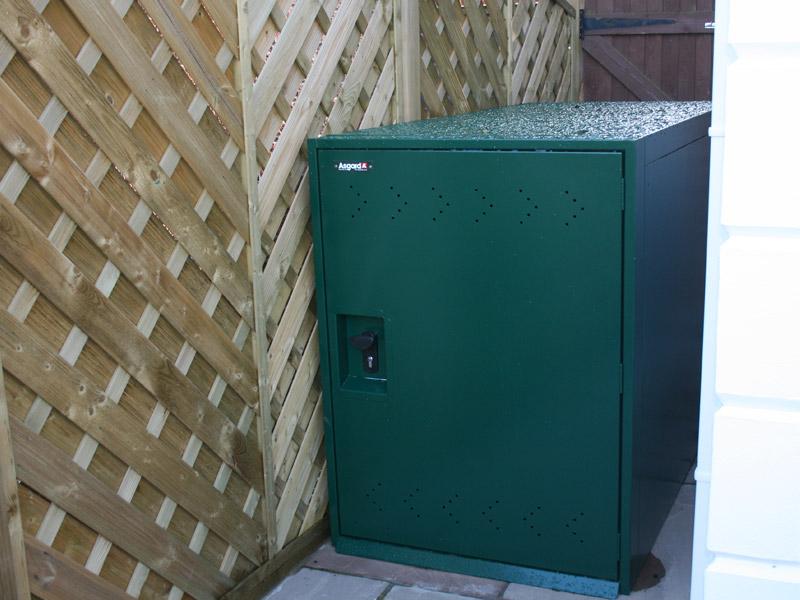 Secure bike locker