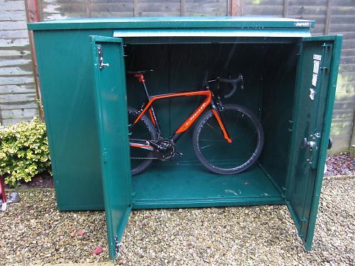 high security bike storage