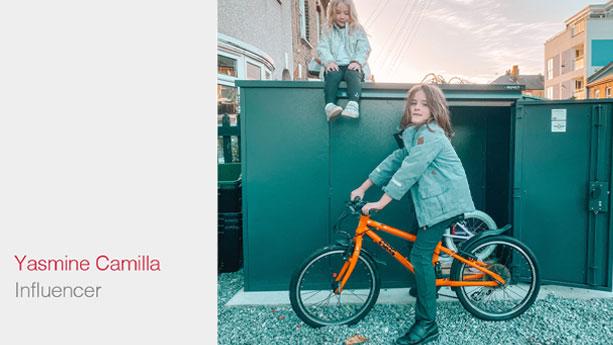 Yasmine Camilla Annexe Bike Storage