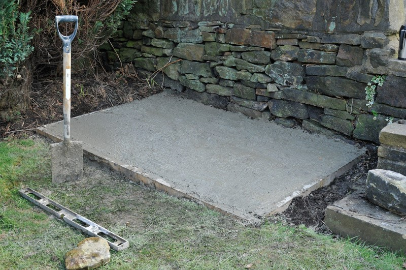 how to build a base for your Asgard shed