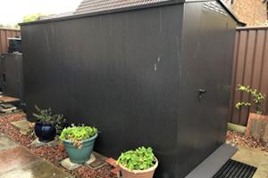 5x11 Large Ventilated Metal Garden Storage