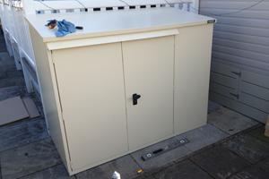 Addition Secure Metal Caravan Storage