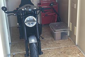Motorcycle Garage by Asgard
