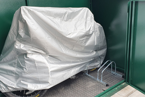 Secure Access Plus Bike Shed for 29ers