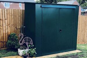 Garden Shed Reviews: Tall Metal Garden Storage