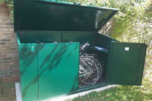Access Plus Bike Shed For 4 Bikes