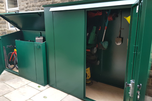Tall Garden Storage Shed