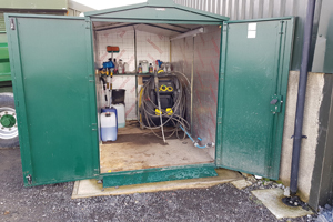 Commercial Outdoor Storage Shed