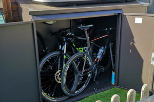Small Bike Shed for 3 Bikes
