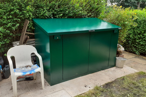 Easy to build Access Bike Shed