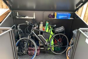Easy to Install Access E-Bike Storage