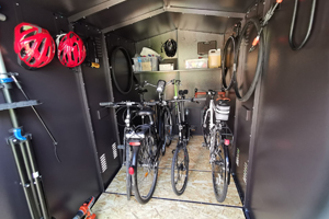 Large Family Bike Shed