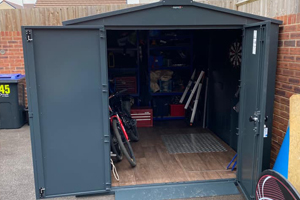 Family Storage Shed and Tool Shed