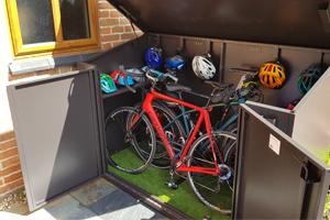 British Designed Access Bike Shed
