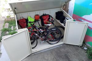 High Security Bike Shed