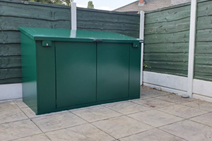 Access Metal Bike Shed