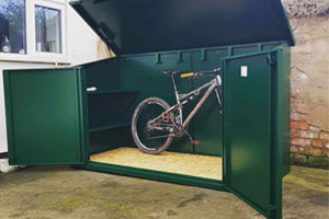Open Access Bike Shed