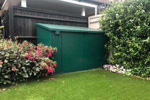Large Garden Metal Shed With Double Door Shed