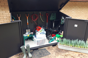 Maintenance Free Outdoor Garden Shed
