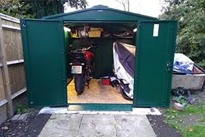 Motorbike Storage Garage