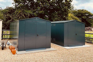 Secure Business Storage Shed