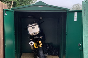 Ride In Motorcycle Storage