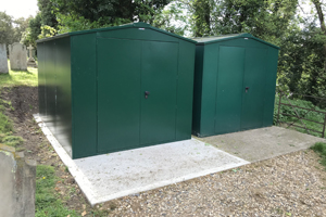 Secure Large Community Outdoor Storage
