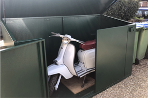 UK Made Secure Scooter Storage
