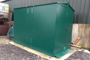Secure Outdoor Storage Unit