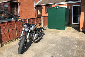 Police Approved Motorcycle Shed