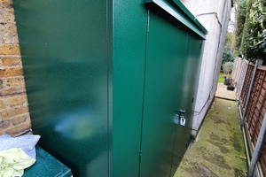 Trojan Plus Complete Garden Shed and Accessories