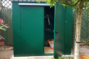 Tall and shallow Garden Storage Shed