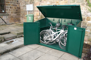 UK Made Bike Shed Design and Built to Last
