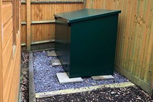 Secure Easy Access Garden Shed