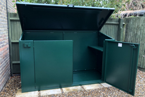 Access Plus Bike Shed - UK Made