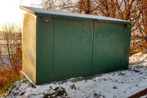 Weatherproof Bike Storage Unit