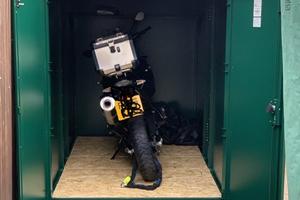 Weatherproof Secure Motorcycle Garage