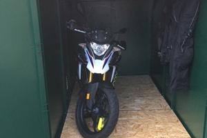 Weatherproof Secure Motorbike Garage