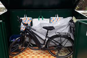 Weatherproof Secure Bike Shed